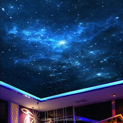 Decorate your ceiling with stars great interior decor nude wallpaper murals blue sky star space customize