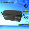 12V 150AH /200AH/250AH on solar system ISO CE UL scooter batteries