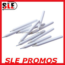 mini white color wood golf pencil