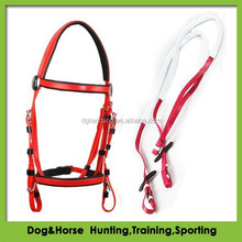 Collegiate Comfort Crown Raised Padded Fancy Stitched Bridle PVC