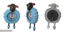 Alibaba superventas animales cristal reloj de pared digital para los niños dormitorio