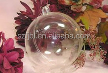 2015 Clear Christmas ball and hanging christmas baubles , Holiday Decoration Clear Hanging Christmas Baubles
