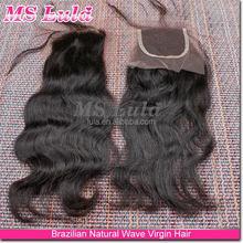 nice no shedding factory price custom design silver hair closures 6x6