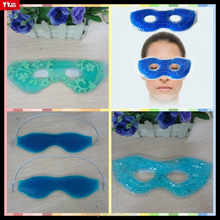 cooling freezer gel eye mask reusable PVC cold compress gel eye mask with wonderful and cute design for relax and massage