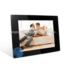 "display led wholesale 10"" inch LCD Digital Photo Frame White LCD frame led"