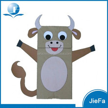 High Quality International Cow Paper Bag Puppet