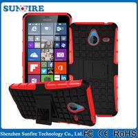 Kickstand rugged case for nokia lumia 640xl, for microsoft lumia 640 640xl protective case