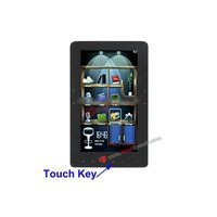 7.0 inch Touch Key Fashional E-BOOK Reader with 800 x 480 Resolution, MP3 / Recording Function