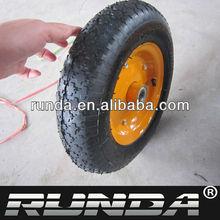small wheelbarrow wheel with stem bearing