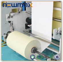 eco-friendly self adhesive semi glossy art paper sticker in sheets