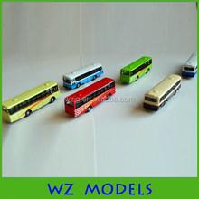 Haute qualité moulé sous pression maquette bus 1:100 - 150 maquette trains mise en page