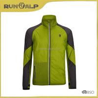 Men's outdoor breathable dark green sport jacket
