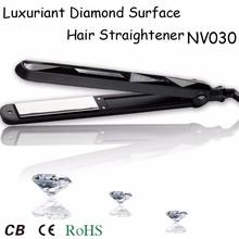 Luxuriant Diamond Surface Ceramic Hair Straightener Titanium hair straightener digital hair straightener