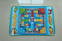 Flying chess Chlidren play mat, baby crowl mat, outdoor picnic mat