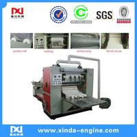high speed facial kleenex tissue machine converting folding type box drawing tissue machine FT20A