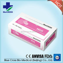HCG rapid pregnancy test strip Home Use with CE and FDA