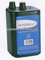 Environmental 5200mAh 6 volt dry cell battery