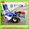 20&22HP DF121 /151 model diesel engine condensing cooled two wheel mini walking tractor with tractor accessories