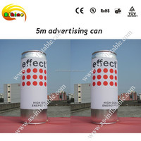 5m giant promotional inflatable can