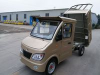 closed cabin four wheel cargo tricycle for heavy duty