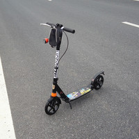 Ming tiger the overhand brake Adult scooter Before and after the big wheel double damping folding two professional car instead o