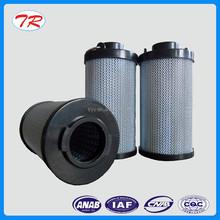 Organic polymer composite glass fiber oil filter element in low pressure return oil pipe road