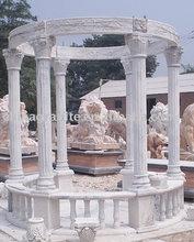 garden relaxing stone pavilion