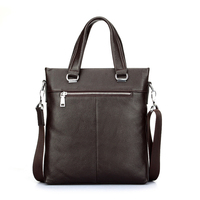 Buy now! Surface ripple 100% cow leather lawyer briefcase tool bag , leather briefcase men
