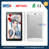 2015 popular 7'' multi touch touch screen 800x480 resolution 512M 4G Storage with phone call function cheapest tablet pc 3g