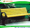 High Quality,Waterproof,Composite Park Benches Wooden Bench With Metal Legs