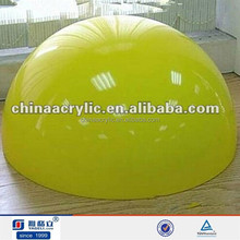 Colorful better plastic domes for crafts,acrylic dome in hot sale