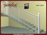 cheap cast aluminum handrail for interior stairs