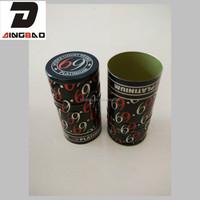 Export quality aluminium vodka bottle cap with saranex liner