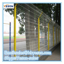 Wire mesh fence post / ovedtail column / Euro fence polar / manufacturer