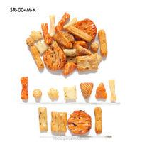 MIX flavours salad crispy biscuit glutinous rice crackers health food snacks