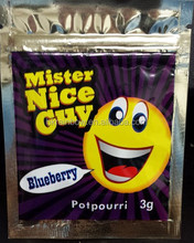 Mister Nice Guy Blueberry/cotton candy/pineapple/sour apple 3g 10g labeled bags
