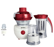 high quality multi-functions mechanical electric mini food processor with 1000ml capacity and pure copper 280W motor