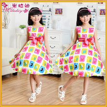 new modle fashion dress for kid, girl frock dress for summer ,baby girl party dress