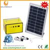 Solarbright portable small power solar energy mini rechargeable led home lighting mini solar panel kits for home grid system