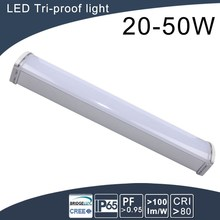 Parking lot/Warehouse use 2h emergency led tri proof light
