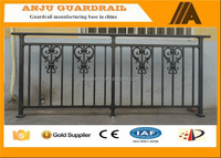 YT-013 Alibaba china lowes wrought iron railings for porch/deck/balcony