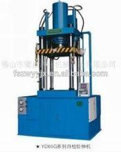 Toneladas 45 yd65 cuatro- la columna de doble- acción de prensa hidráulica de la máquina para la embutición profunda