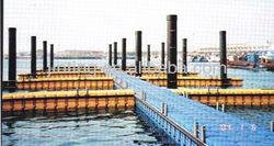 floating dock, floating dock cube, modular floating dock
