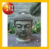 hand carved natural stone and resin buddha head statue