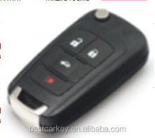 Big Discount 3+1 buttons car remote key for remote chevrolet 433/315 mhz id46chip