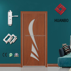 Interior PVC Cheap MDF Door for sales(HBW-310)