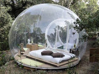 Shanghai Camping tent Inflatable clear dome tent bubble tent car cover