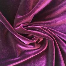Polyester spun velvet,shiny velvet, knitted velvet