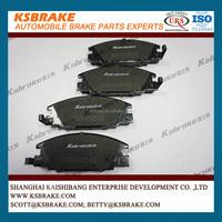 Top Quality Brake Pad D363 1605825 for China Car Landwind X6 Parts