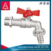 male female pipe fittings brass bibcock in china,faucet brass